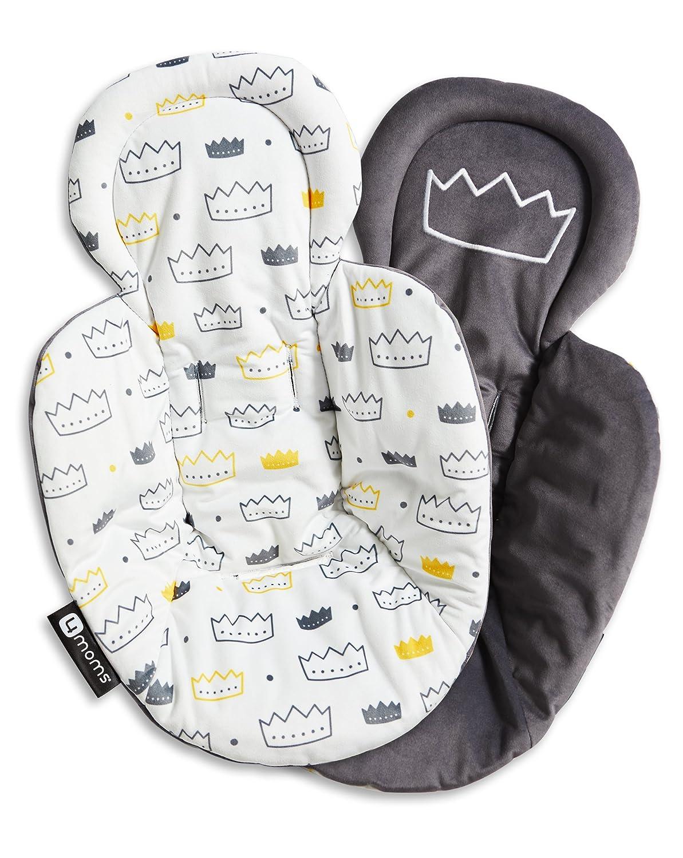 4moms Reversible Newborn Insert, Limited Edition (Little Royal)