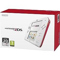 Nintendo 2DS - Scarlet Red / White (Renewed)
