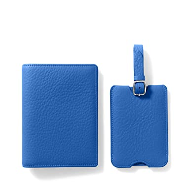 3c3fcc735c2f Deluxe Passport Cover + Luggage Tag Set