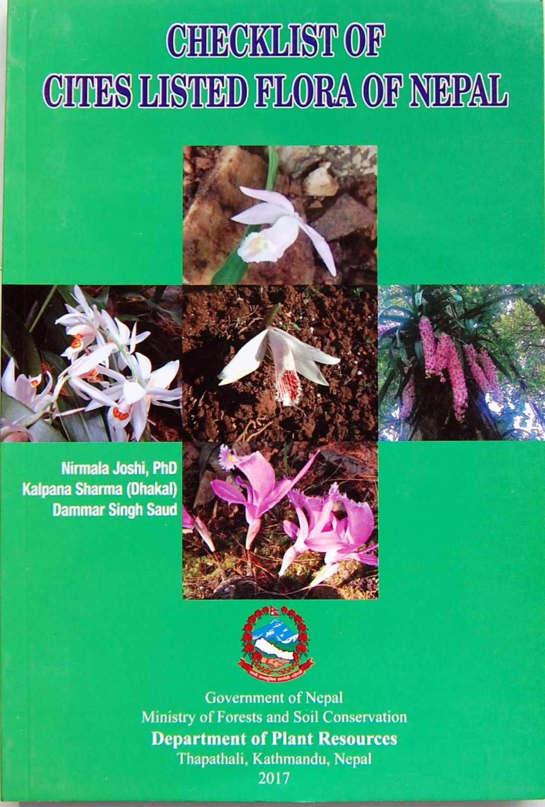 Download Checklist of Cites Listed Flora of Nepal ebook
