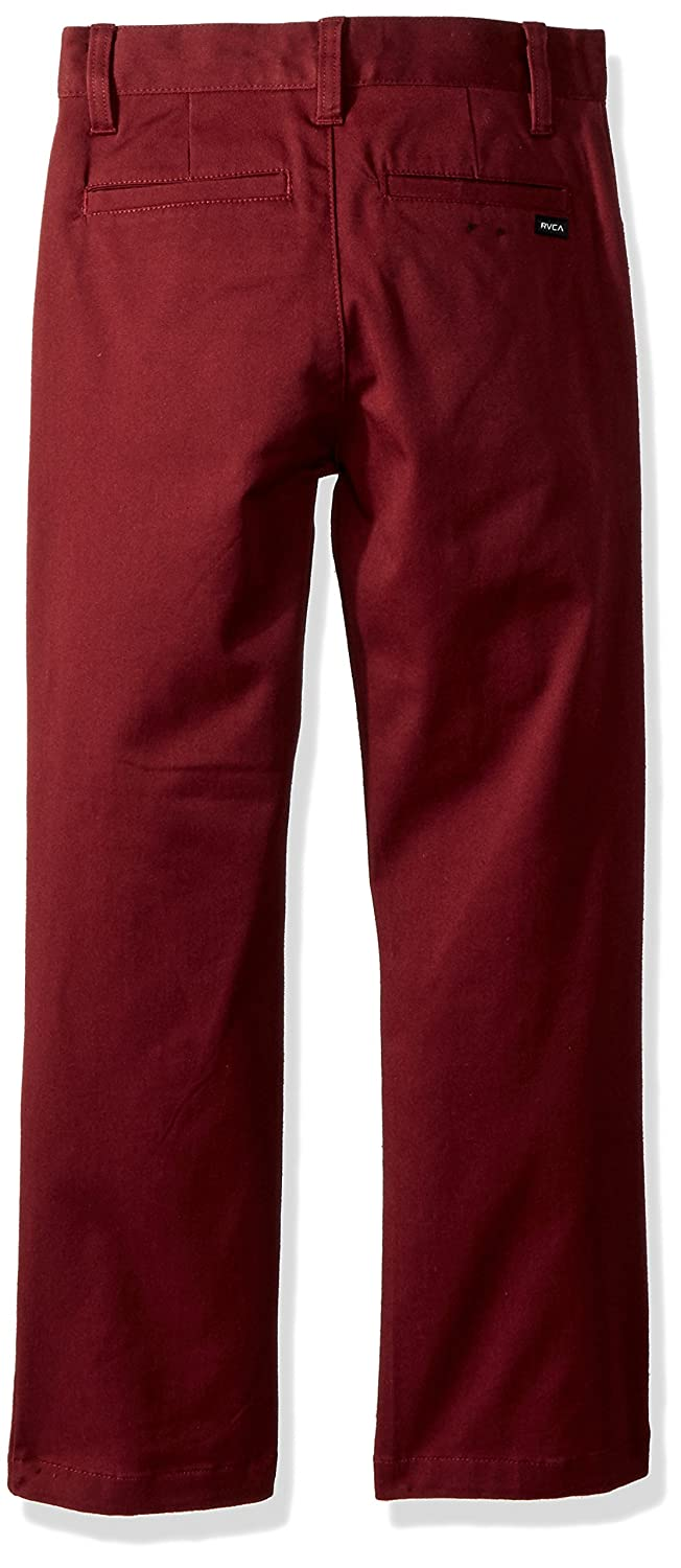 RVCA Boys Big Weekday Stretch Chino Pant