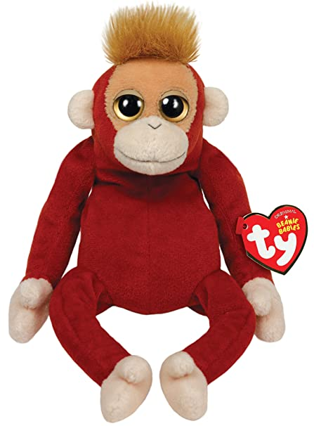 b5578ea0a7b Image Unavailable. Image not available for. Color  Ty Beanie Babies  Schweetheart Orangutan Plush