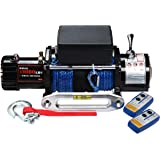 X-BULL 12V Synthetic Rope Electric Winch 13000 lb.Load Capacity