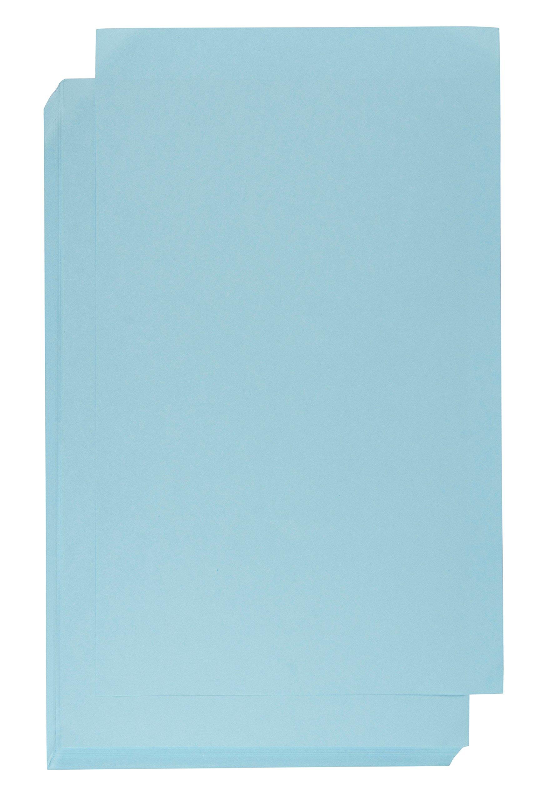Cardstock Paper - 60-Count 8.5 x 14 Legal Size Paper for DIY Craft Project, Scrapbooking, Menu, Program, Document, Inkjet and Laser Printer Compatible, 150GSM, Blue