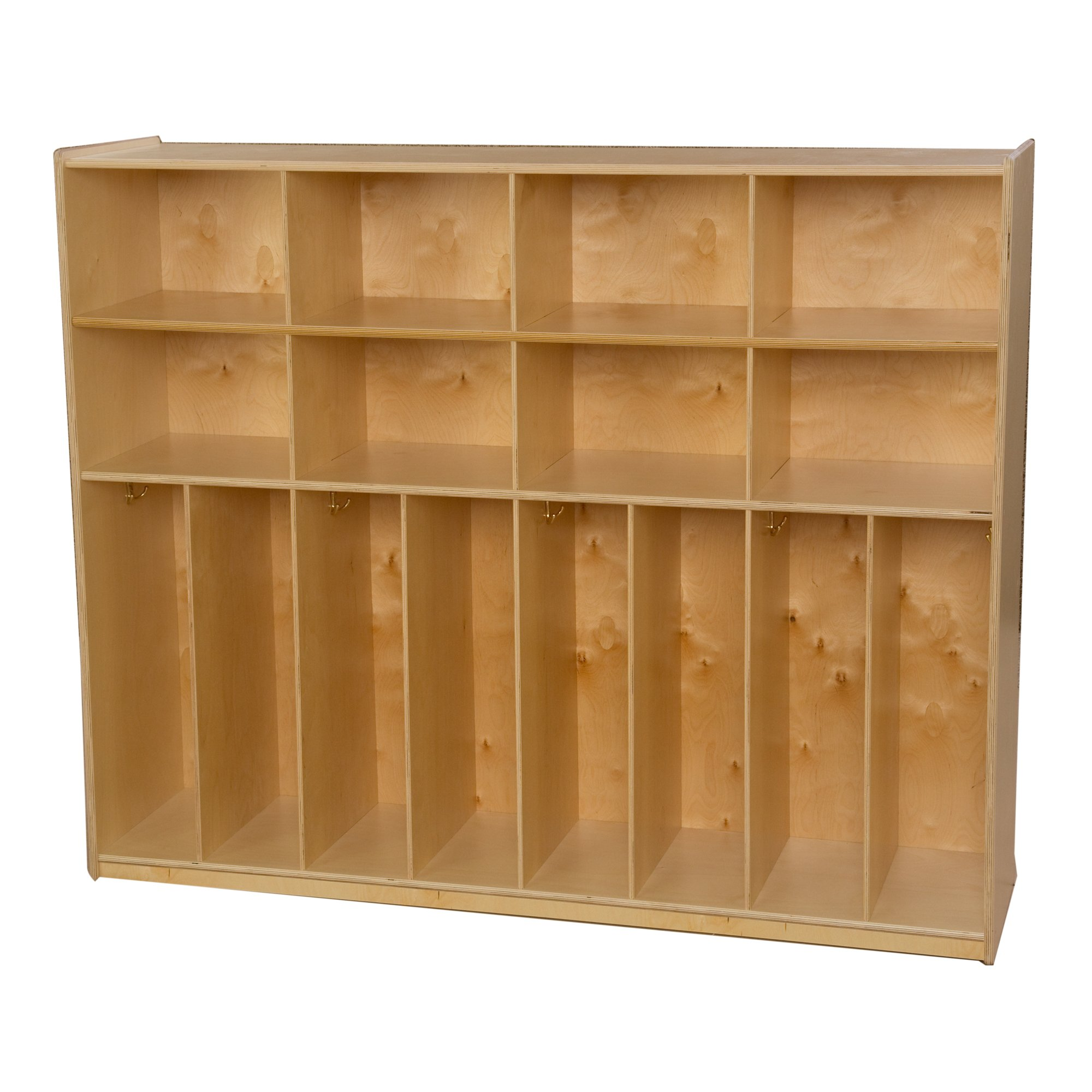 Wood Designs 50860 Neat-N-TRIM Locker - 60''W, 49'' Height, 52'' Width, 18'' Length