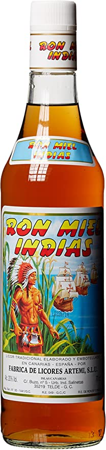Artemi Ron Miel Indias 0,7L (20% Vol): Amazon.es ...