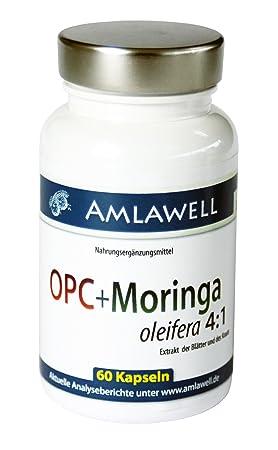 Amlawell OPC & Moringa/60 Cellulose Capsules 720mg/240mg