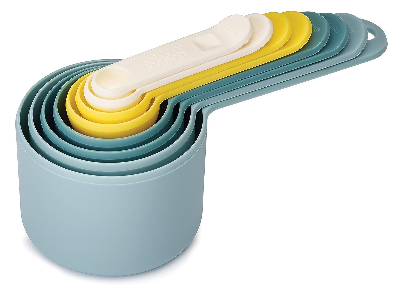 Joseph Joseph Nest Measure Measuring Cup Set, Classic - Multi-Colour, 8 Piece 40019