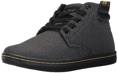 Dr. Martens Damen Belmont Gunmetal Serge Sneaker  Amazon   Schuhe ...
