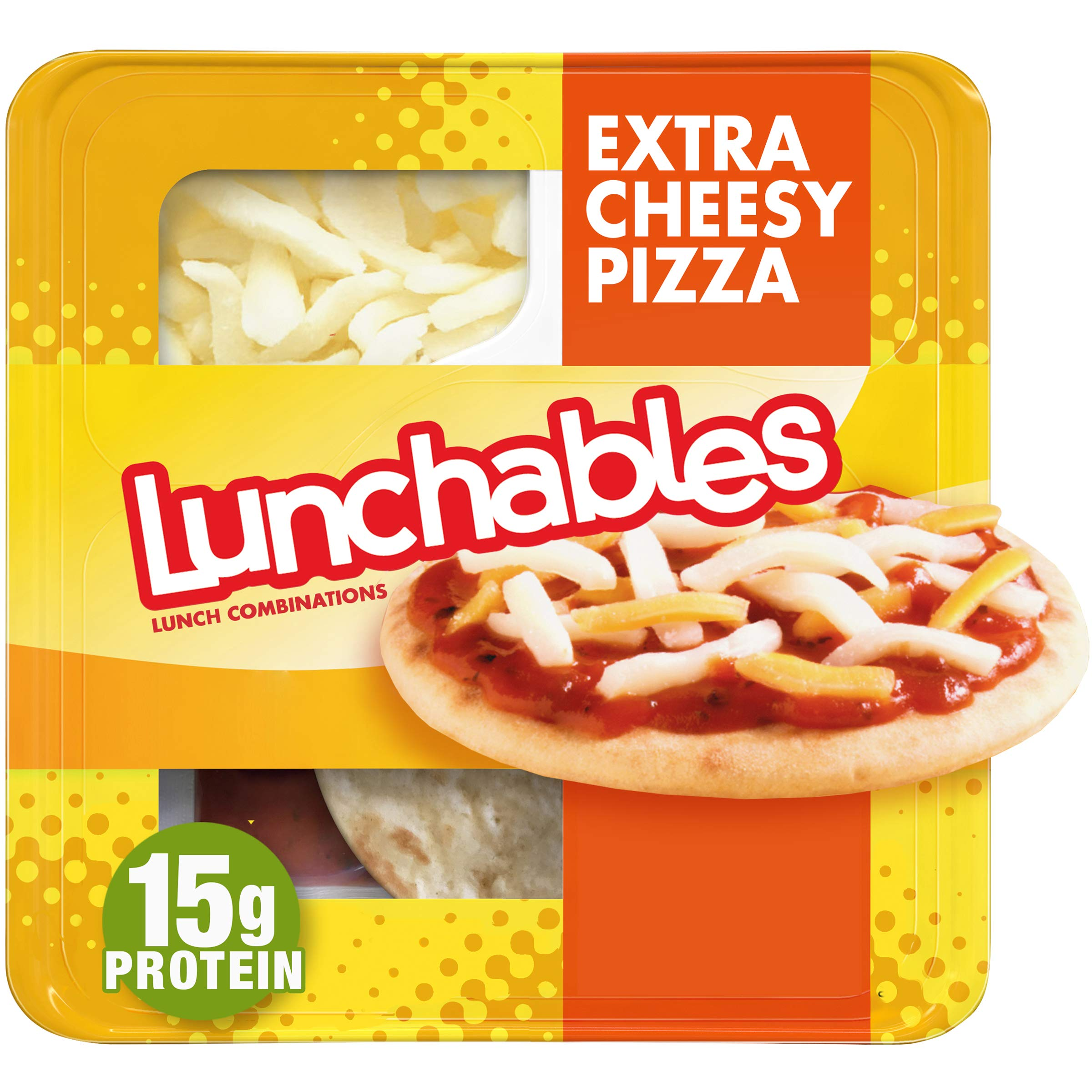Lunchables Extra Cheesy Pizza with Pizza Sauce Lunch Combination (4.2 oz Tray)