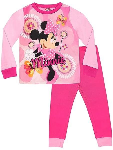 Disney Pijamas de Manga Larga para niñas Minnie Mouse 18-24 Meses