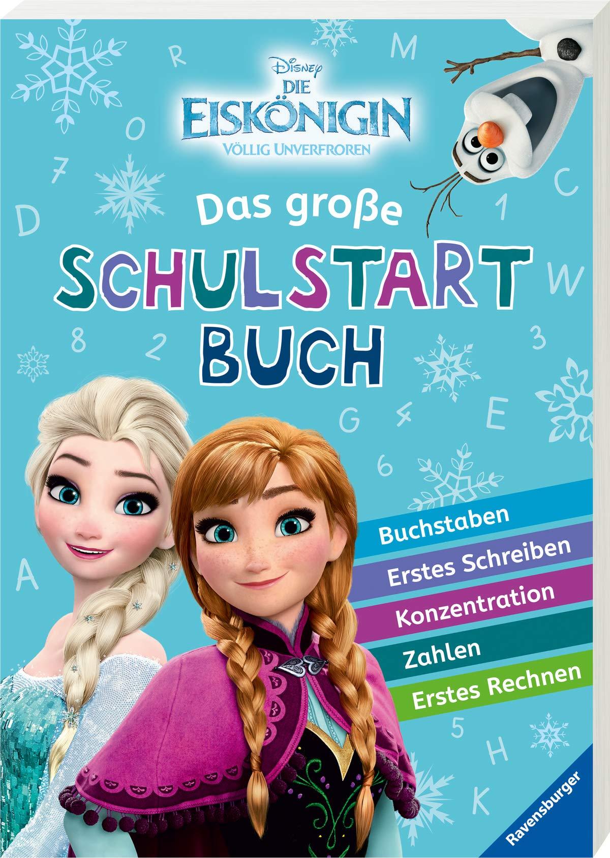 Disney Die Eiskönigin  Das Große Schulstartbuch