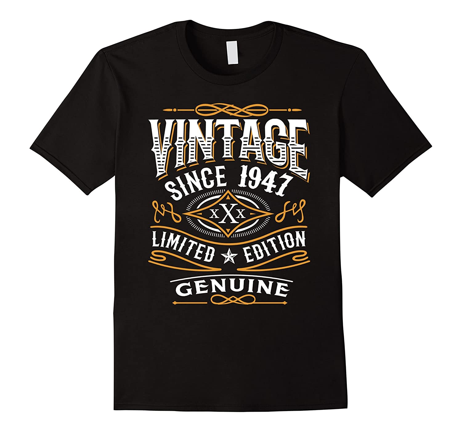 70th Birthday Gift T-Shirt Vintage 1947 - 70 Years Old Shirt-TH