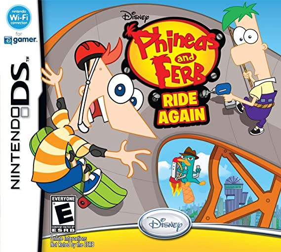 ferb Phineas ds again and ride