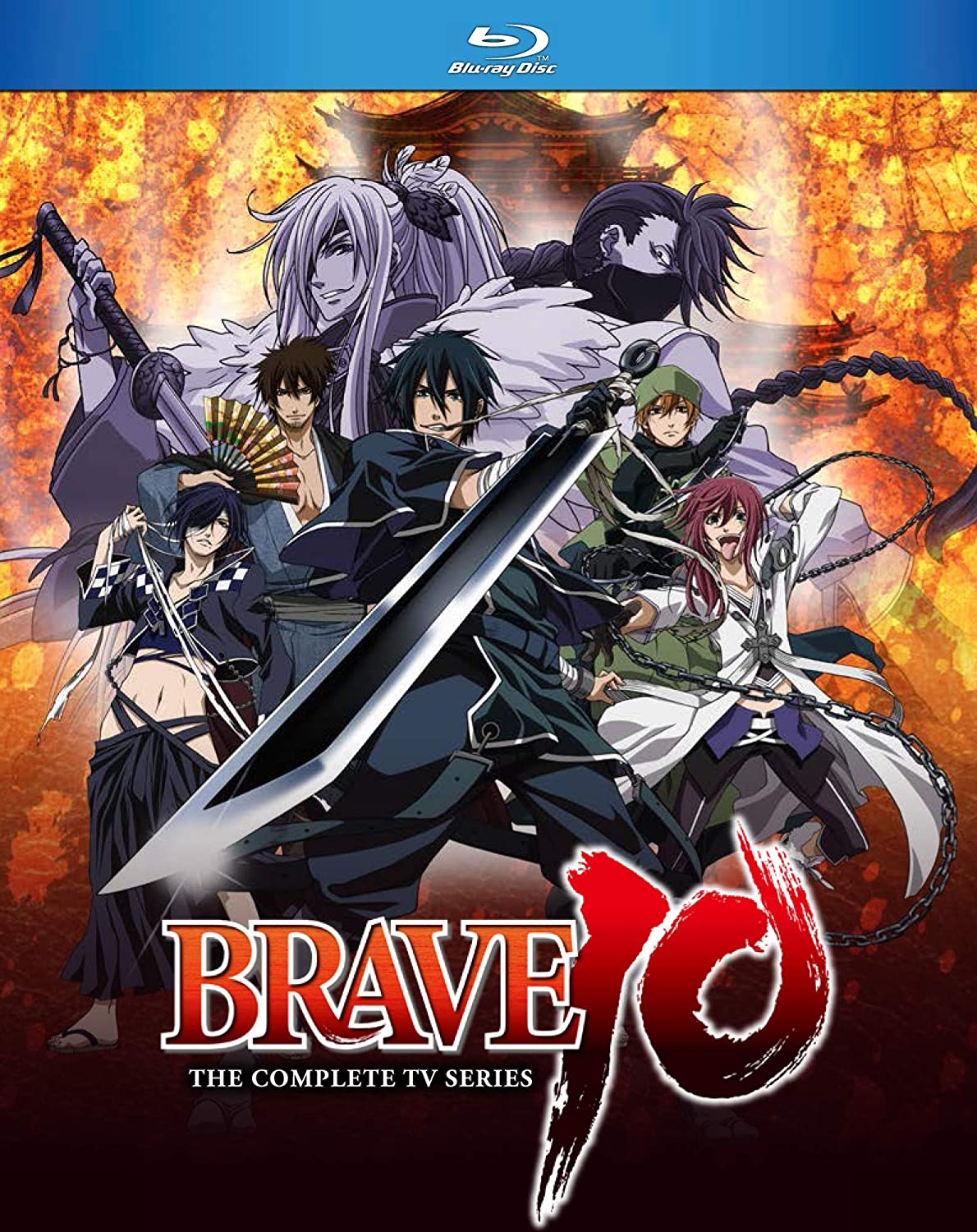 Brave 10 Blu-ray (Sub Only)