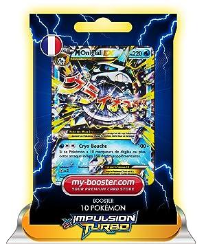 Pokémon - Paquete de 10 cartas de expansión TURBO-Impulso de Glalie EX 35/