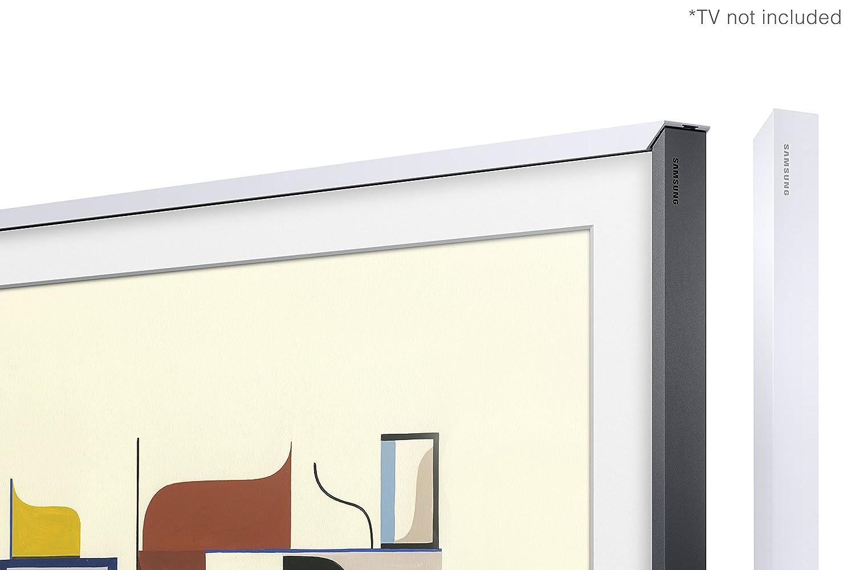 """with Samsung 43 Frame TV VG-SCFM43WM//ZA Bonus Samsung 43/"""" Customizable Frame TV Bezel White UN43LS03NAFXZC"""
