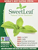 Sweetleaf Stevia 70 Piece Sweetener, 2.5 Ounce(pack of 3)