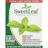 Sweetleaf Stevia 70 Piece Sweetener, 2.5 Ounce(pack of 3)