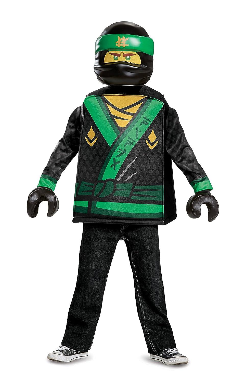 LEGO Ninjago película 23474l Lloyd Classic Costume, 4 - 6 años