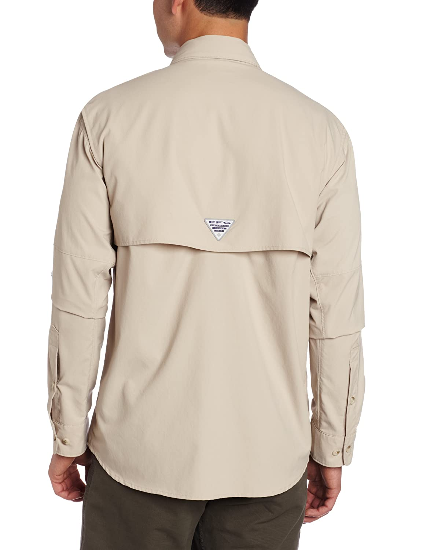 cf212281f39 Amazon.com : Columbia Men's Blood and Guts II Long Sleeve Woven Shirt : Athletic  Shirts : Clothing