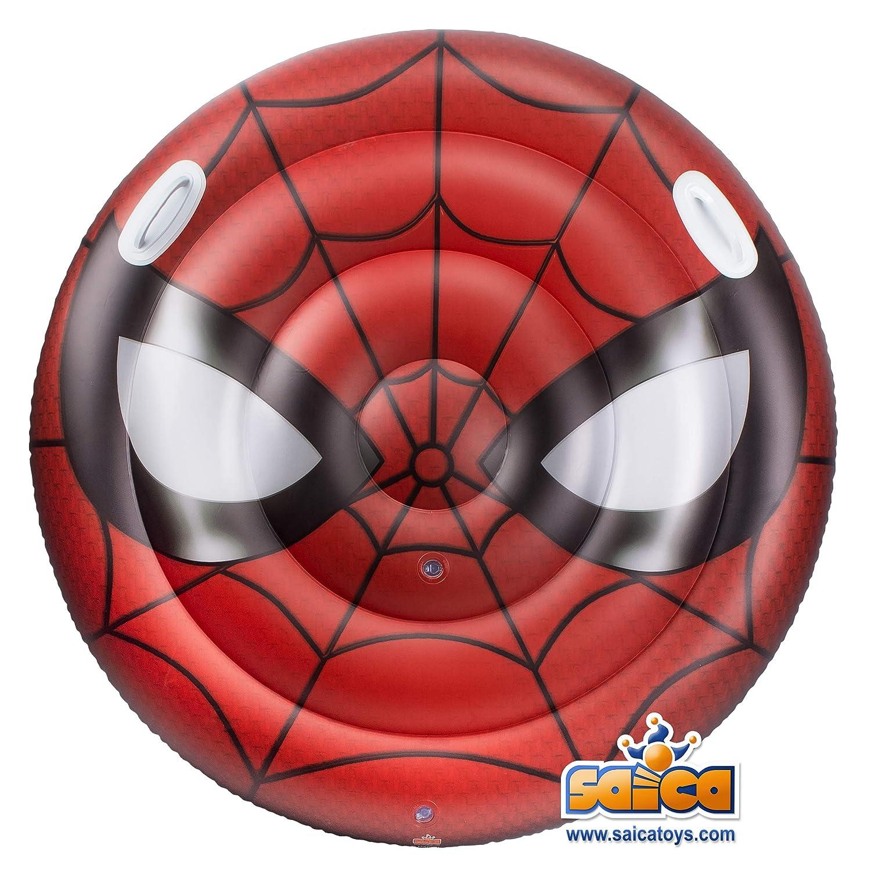 Saica- Spiderman Hinchable, Multicolor (3474): Amazon.es: Juguetes ...