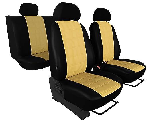 Nissan Navara IV Maßgefertigte Kunstleder  Schonbezüge Autositzbezüg  Beige