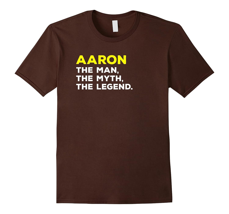 AARON Legend T Shirt Large Black-Teeae