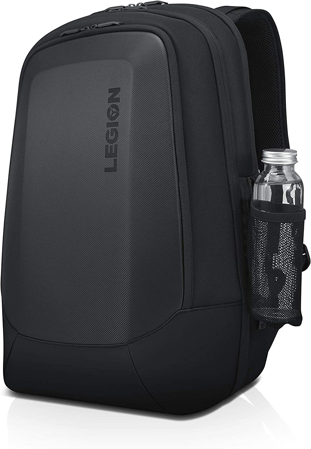 "Lenovo Legion 17"" Armored Backpack II, Gaming Laptop Bag, Double-Layered Protection, Dedicated Storage Pockets, GX40V10007, Black"