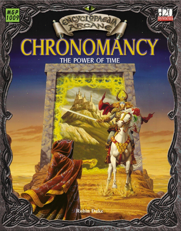 Encyclopaedia Arcane: Chronomancy - The Power Of Time (Encyclopedia