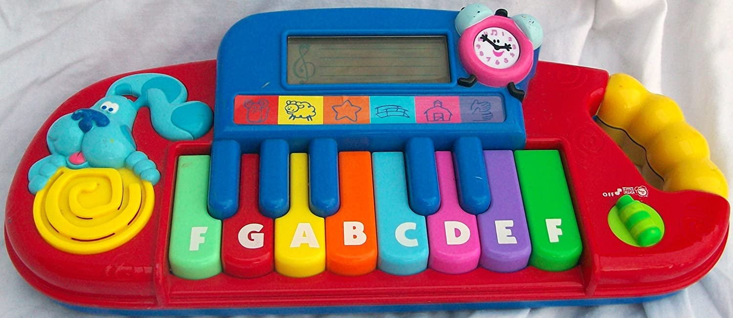 amazon com blues clues educational piano toy toys u0026 games