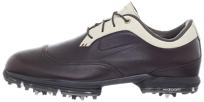 timeless design d70fe 08049 Amazon.com   Nike Golf Men s Nike Tour Premium II-M, Medium Brown  Cream Metallic Stout, 9 M US   Golf
