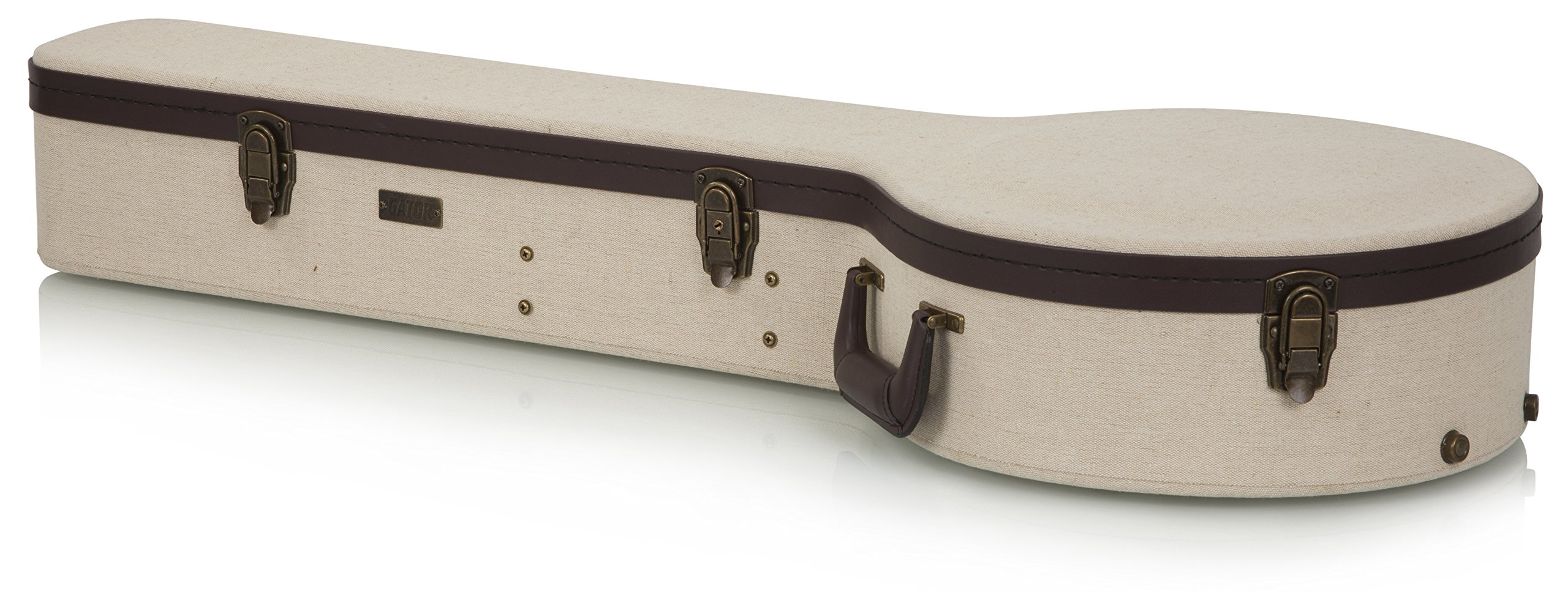 Gator Cases Journeyman Series Deluxe Wood Case for Banjos (GW-JM BANJO XL) by Gator (Image #3)