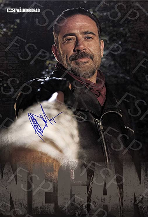 THE WALKING DEAD NEGAN Meet Lucille Poster Photo Painting on CANVAS Wall Art