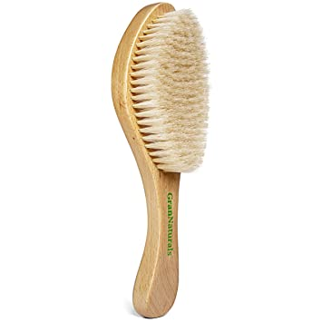 Amazon Com Grannaturals Soft Wave Brush Curved Boar Bristle Hair Brush For 360 Waves Beauty