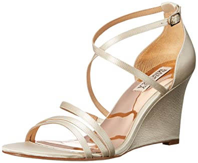 Badgley Mischka Women's Bonanza Strappy Wedge Sandal pjyKNJX