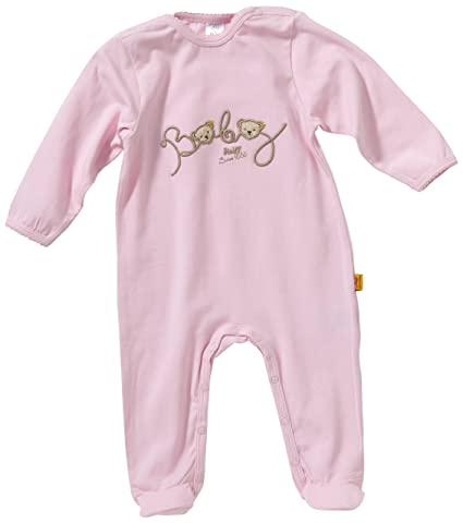 297ed5b880 Steiff 6236211 - Pigiama intero con piedi, bambina, Rosa (Rosa (2720)), 50:  Amazon.it: Prima infanzia