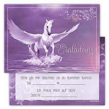 12 Tarjetas De Invitaci N Divertido Cumplea Os Infantil Pegasus