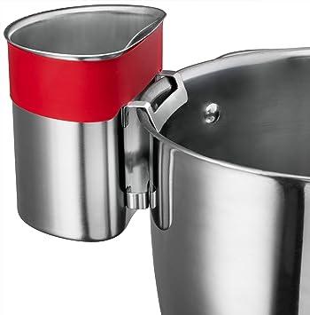 belwares acero inoxidable cuchara Dock para utensilios – esta taza cuelga sobre sartenes y ollas para