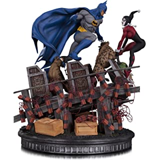 Dc Comics Batman Hush Batman And Catwoman Kiss Statue Amazoncouk