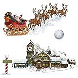 Beistle - Santa Sleigh Workshop Props