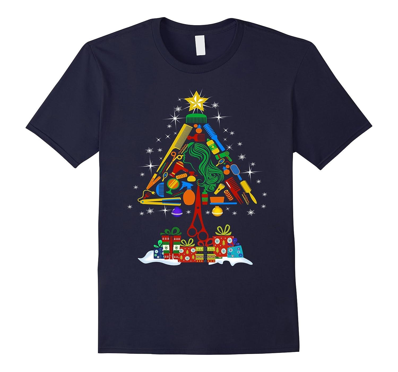 Hairstylist Christmas Tshirt for hairstylist-ANZ