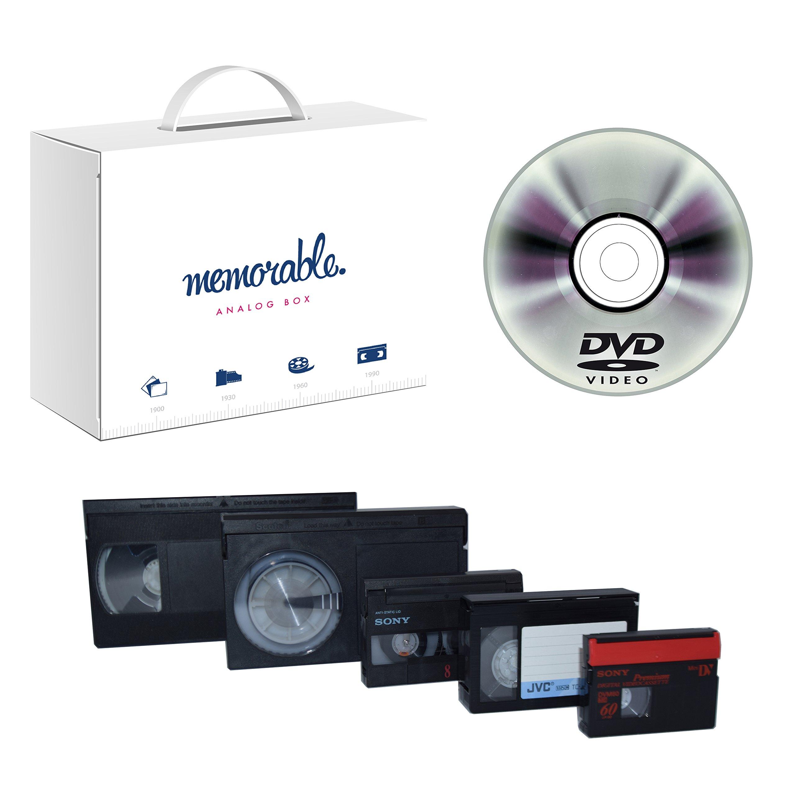 Memorable Video Transfer Service to DVD (100 Tapes)