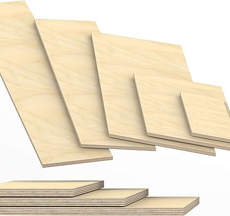 27mm Multiplex Zuschnitt L/änge bis 200cm Multiplexplatten Zuschnitte Auswahl 60x60 cm