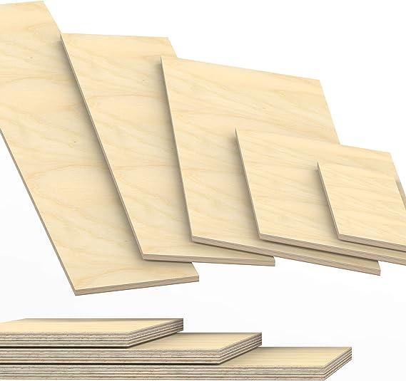 10x100 cm 27mm Panneau de contreplaqu/é d/ébit/é /à 200cm en longueur panneaux multiplex