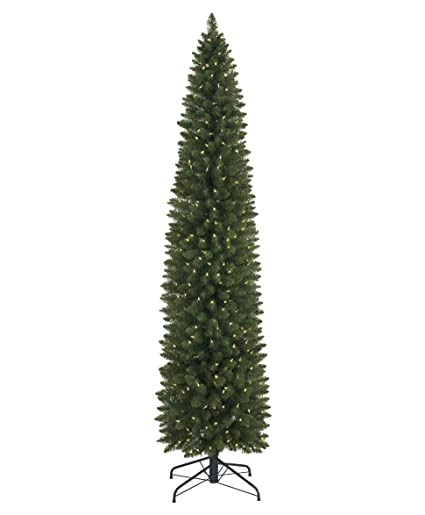 Tree Classics Empire Pencil Artificial Christmas Tree, 7.5 Feet Prelit,  Color Changing LED Lights - Amazon.com: Tree Classics Empire Pencil Artificial Christmas Tree