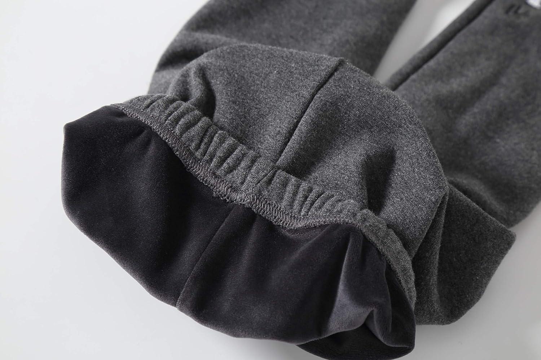 IRELIA Winter Girls Cotton Fleece Lined Leggings Pants