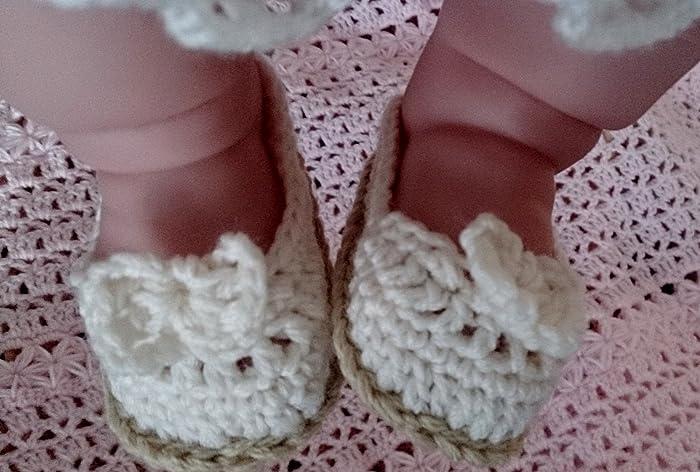 Amazoncom Crochet Baby Shoes Baby Booties Crochet Baby Sandals