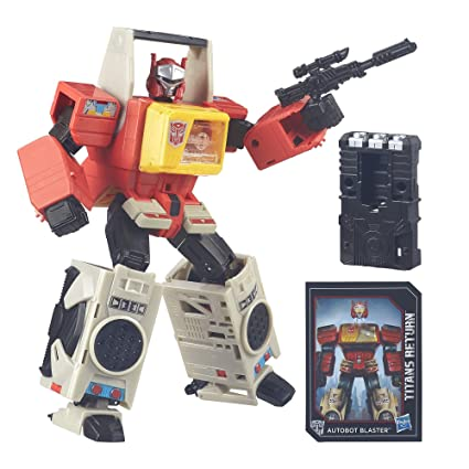 size 40 20909 58ed7 Amazon.com  Transformers Generations Titans Return Autobot Blaster and Twin  Cast (Discontinued by manufacturer)  Toys   Games