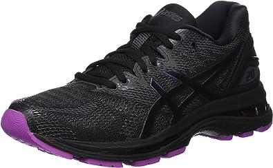 Asics Gel-Nimbus 20 Lite-Show, Zapatillas de Running para Mujer, Negro (Black/Black 001), 44 EU: Amazon.es: Zapatos y complementos